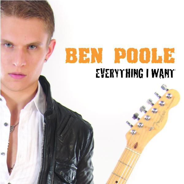 Ben Poole - 'Everything I Want' EP cover
