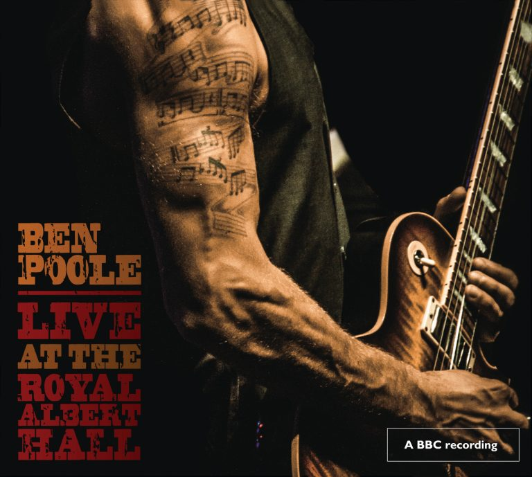 Ben Poole 'Live at the Royal Albert Hall' cover