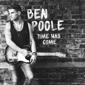 Ben Poole 'Time Has Come' Album Cover
