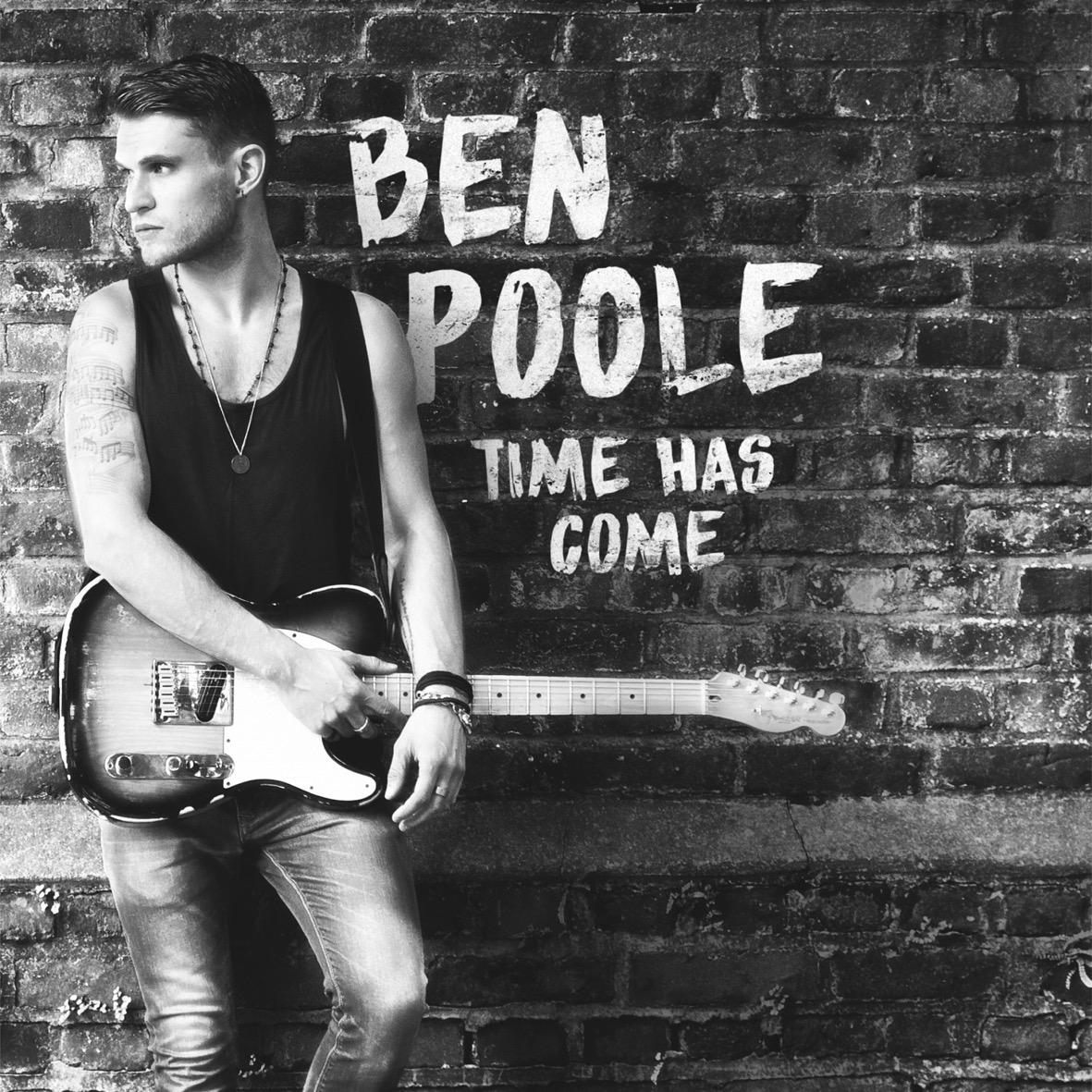 Ben Poole 'Time Has Come' Album Cover