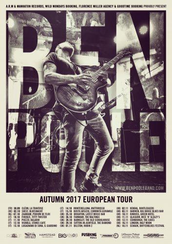 Ben Poole 2017 Tour