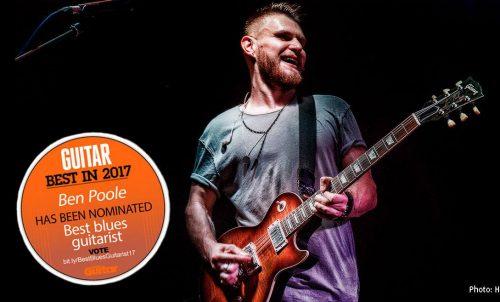 Ben Poole Total Guitar