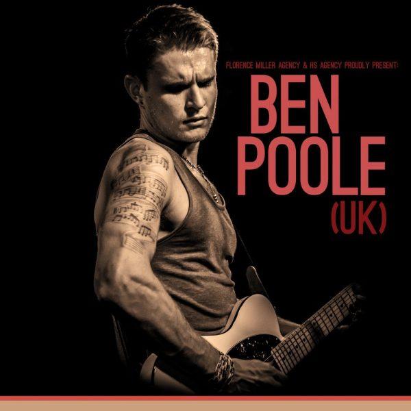 Ben Poole - Ladybird Tour Poster