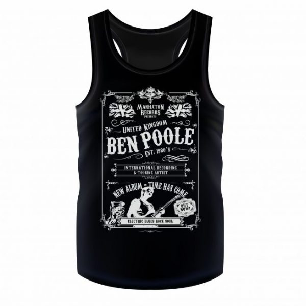 """Whiskey Rock"" Vest Black"